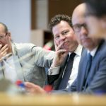 MEP Morten Helveg Petersen in the Panel at the launch of Energy Solutions on April 6th 2016
